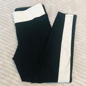 Joy Lab Black White Leggings Yoga Workout Pants